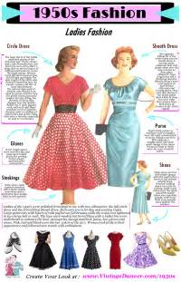fashion styles for in their 50s what did women wear in the 1950s