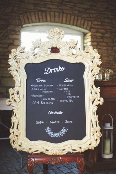 diy chalkboard for wedding diy diy lettering chalkboard menu 2337569 weddbook