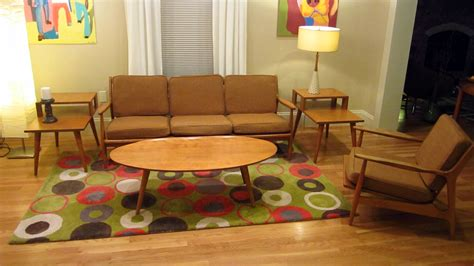 1950 living room furniture conant furniture mid century surfboard modern 1950s