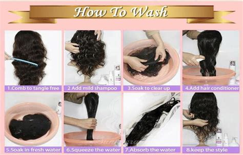raw hair dye instructions how to wash human hair wig blog julia hair
