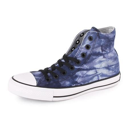 converse chuck all tie dye hi all unisex sizes trainers blue white ebay
