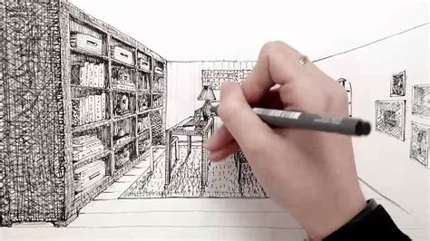 Small House Furniture Ideas by Hand Drawing Interior Design Courses Youtube