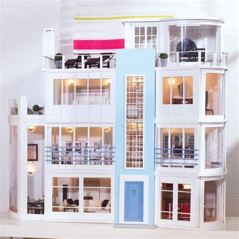 dollhouse modern 415 best miniature modern dollhouses images on pinterest