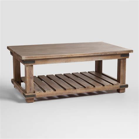 coffee tables for living room alaterre pomona reclaimed wood and meta coffee table
