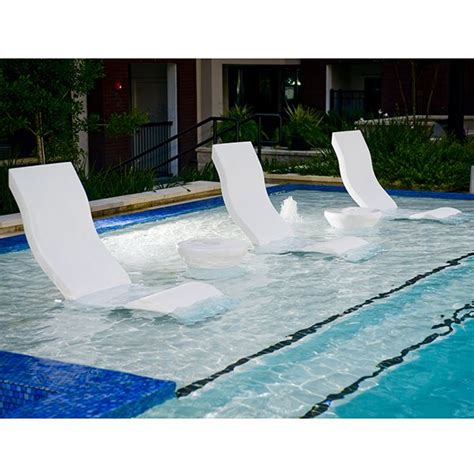 In Pool Lounge Chairs by Chair Ledge Lounger Outdoor Pool Patio