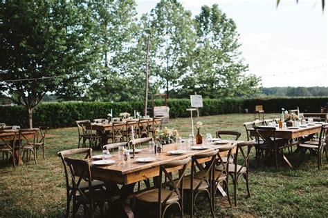 outdoor wedding venues in carolina carolina merry hill outdoor reception rustic weddings country weddings rustic