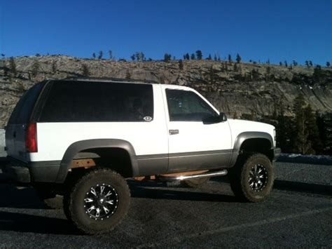 Chevy Tahoe 98 by 98 Tahoe Lifted Html Autos Post