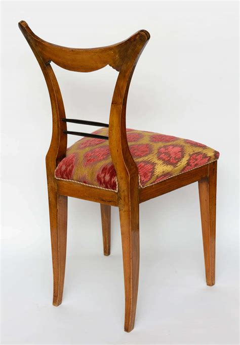 Biedermeier Dining Chairs Set Of Six Biedermeier Dining Chairs Josef Danhauser Vienna For Sale At 1stdibs