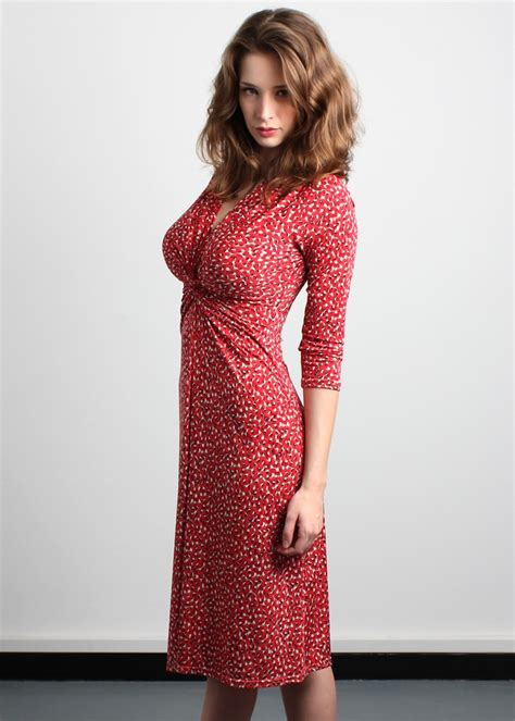 wrap dress for big bust Style Tips for Big Busted Women Images   Frompo