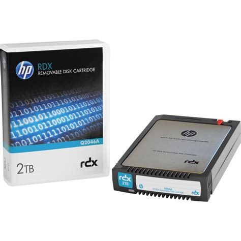 Removable Disk hp rdx 2tb removable disk cartridge q2046a