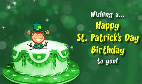 happy birthday on st s day clip st s day birthday clipart 61