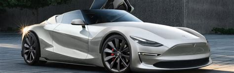 tesla supercar concept tesla roadster will reborn as a convertible future