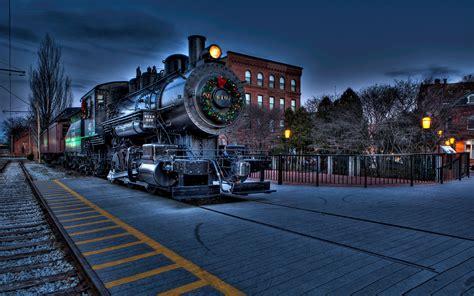 desktop wallpaper xmas trains boston locomotive railway city wallpaper 2560x1600 147015 wallpaperup
