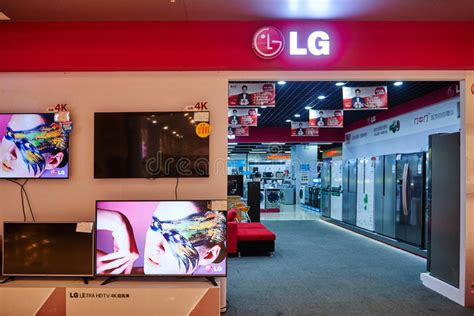 home appliances store editorial image image of shopping lg household electric appliances shop editorial stock