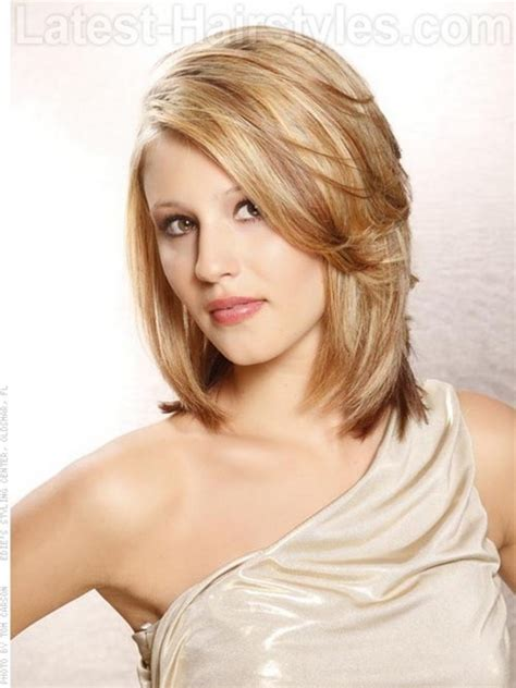 Cute Medium Haircuts For Long Faces | medium hairstyles for long faces