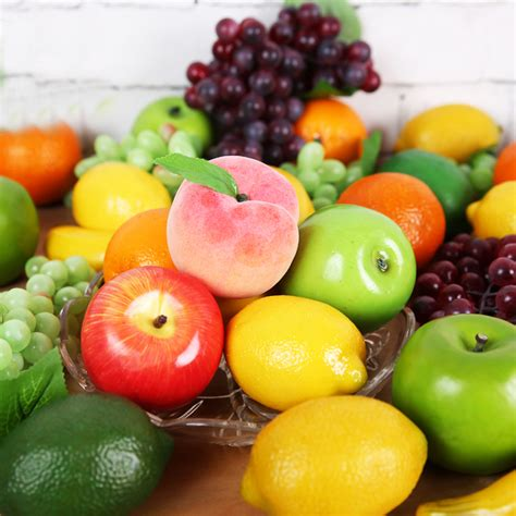my fruits model peach decorative artificial fruits and vegetables model foam