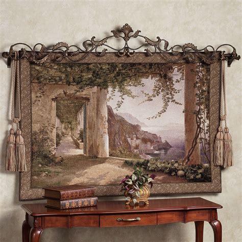Tapestry Home Decor Amalfi Dai Cappuccini Wall Tapestry
