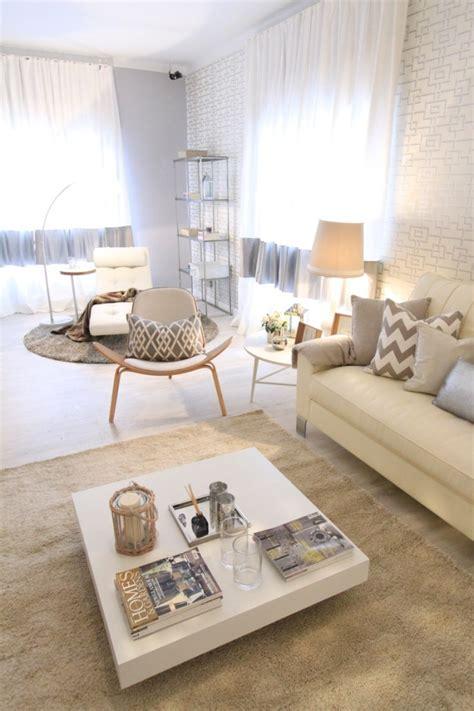 wohnzimmer in weiss gestalten ideen zum wohnzimmer einrichten in neutralen farben