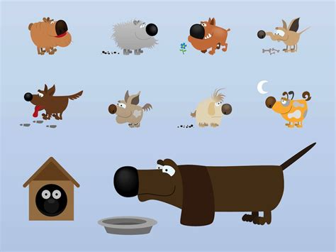 dogs characters characters