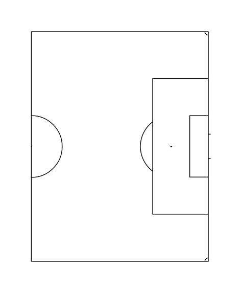 soccer pitch template ipadpapers soccer field paper templates