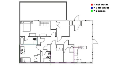 Plumbing Plans For House by 6 Cea Residential Plumbing Plan