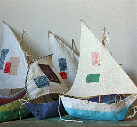 paper mache boat fun family crafts
