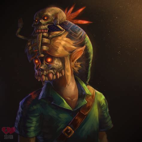 the legend of majora s mask a link to the past legendary edition the legend of legendary edition speedpaint majoras mask by siga4bdn legend of