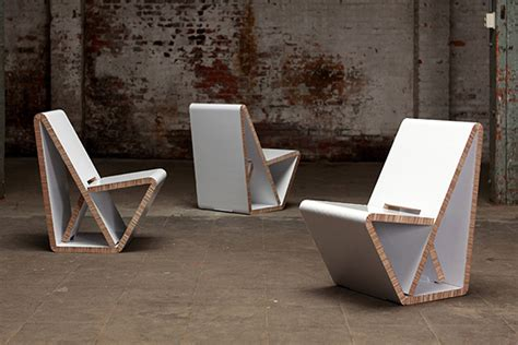 thonet s vouwwow vw01 is a flat pack recycled honeycomb thonet s vouwwow vw01 is a flat pack recycled honeycomb
