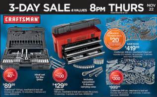 black friday tool box sales sears craftsman black friday 2012 adscans