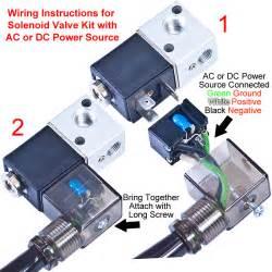new solenoid valve kit for kf10 kf50 electro pneumatic vacuum valves dc 12v 50 60hz