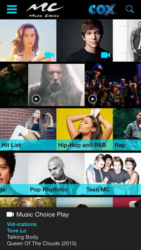 what channel is music choice on bright house music choice app insight download