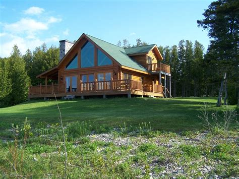 Cabin Rentals In Michigan by St Ignace Vacation Rental Vrbo 182520ha 2 Br