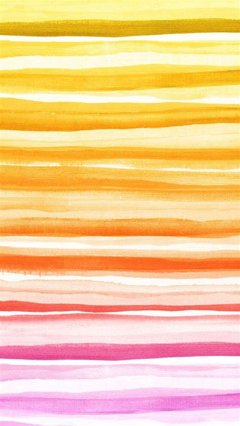 yellow watercolor pattern iphone 5 wallpaper watercolor stripes pink yellow