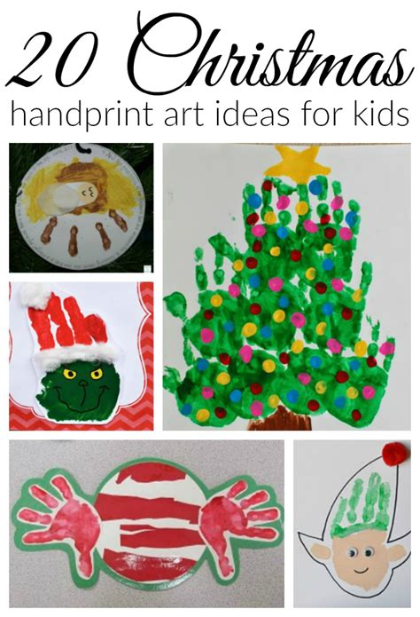christmas ideas for pewschools handprint how wee learn