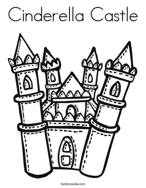 castle outline coloring page disney castle outline cliparts co