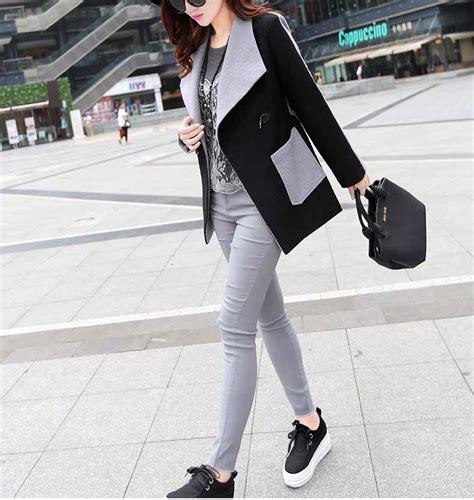 Model Cd Wanita pin jual blazer korea toko sweater polos distro