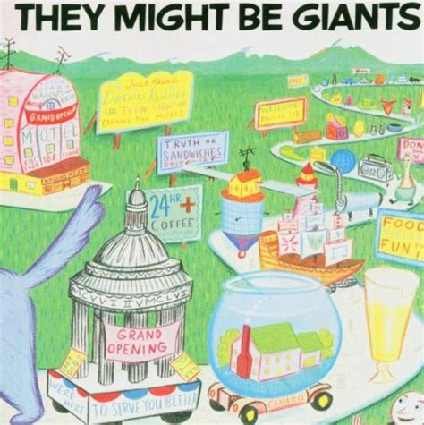 Might Be by They Might Be Giants 1st They Might Be Giantsのジャケット写真集