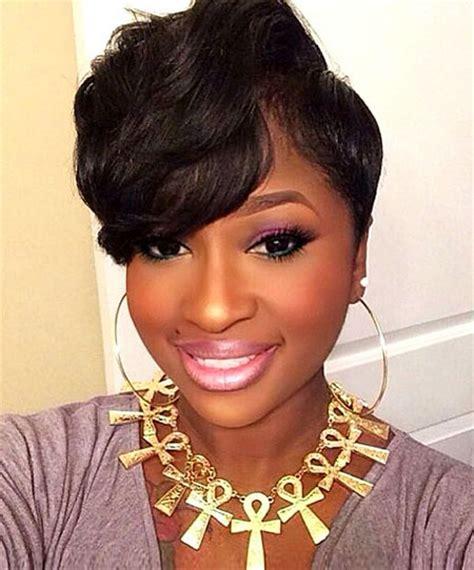 super short braided pixie styles for blacks 40 super short haircuts for black women short