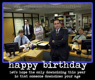 The Office Birthday Card