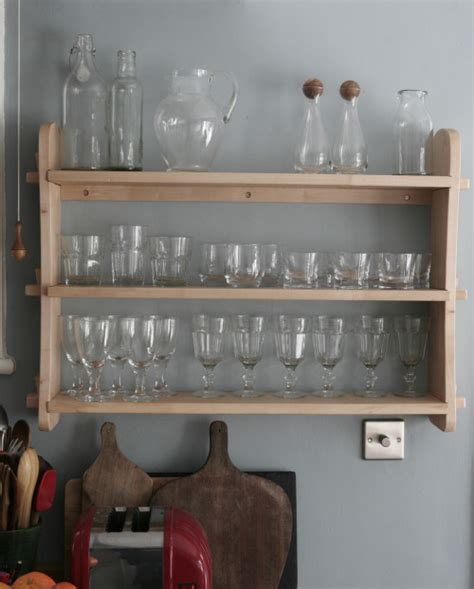 On The Shelf Glasses by Ben King Bespoke Furniture Maker Brighton