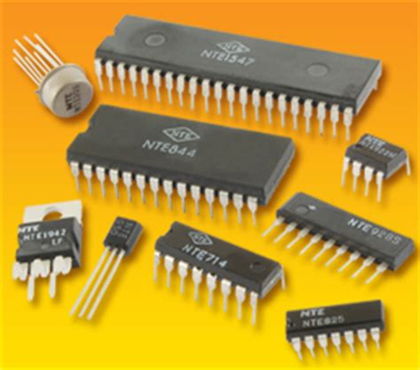 integrated circuit pic nte electronics integrated circuits linear cmos microprocessors