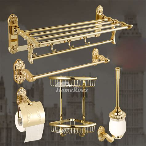 polished brass bathroom accessories polished brass bathroom accessories set gold carved