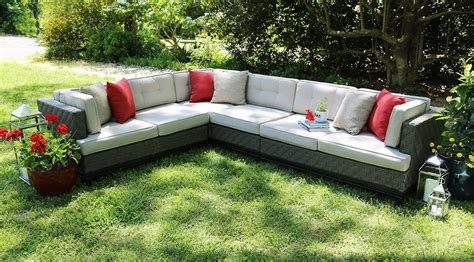sunbrella fabric sectional sofas sunbrella sectional sofa sunbrella furniture bernie phyl s