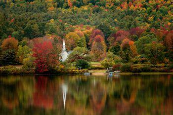 scenic fall foliage drives in new hampshire