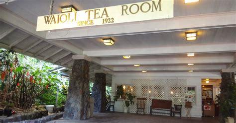 waioli tea room historic hawaii foundation news historic waioli tea room will reopen
