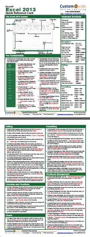 excel formula cheat sheet pdf microsoft excel formula cheat sheet pdf 15 useful excel