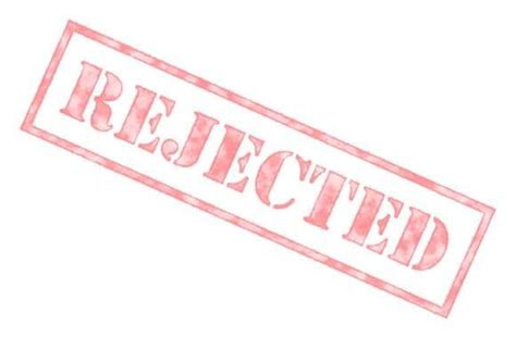 Rejection Letter Background Check What Would Cause An Adcom To Reject A Strong Mba Applicant