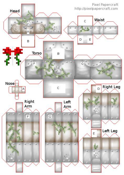Papercraft Minecraft Iron Golem - papercraft iron golem loafcraft