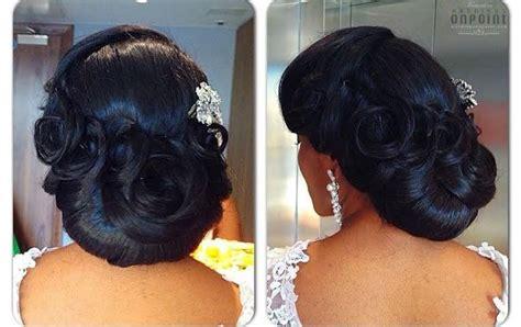 Black Hairstyles On Facebook | african american black bride wedding hair natural