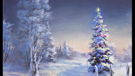 simple acrylic christmas tree painting my blog